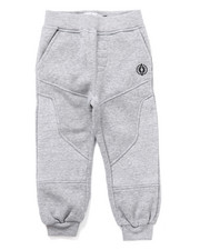 Boys - FLEECE MOTO JOGGERS (2T-4T)