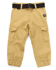 Pants - BELTED CARGO JOGGERS (2T-4T)