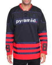 Shirts - Three Stripe Hockey - Style Jersey