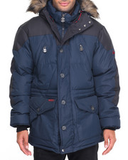 Heavy Coats - Frostmaster X - Quilt Two - Toned Snorkel Coat