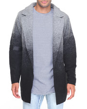 Heavy Coats - PINFADE GRADIENT WOOL - BLEND PEACOAT