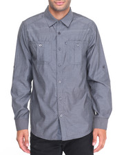 Rocawear - Chambray L/S Button-down