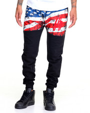 Sweatpants - Stars and Stripes Jogger