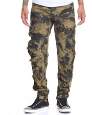 Men - Heritage America Printed Denim Jeans