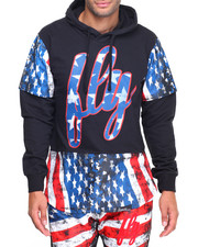 Men - Stars and Stripes Hoody