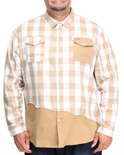 Men - L/S Button-Down (B&T)