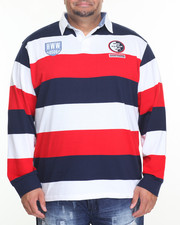 Men - YD Stripe Rugby (B&T)