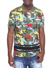 Parish - Camo Polo