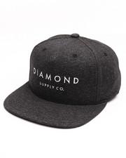 Men - Diamond Snapback Cap