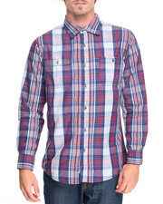 Shirts - Charles Plaid L/S Button-Down