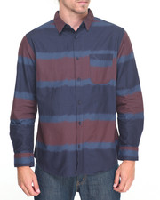 Shirts - Ombre Stripe Buttondown Shirt