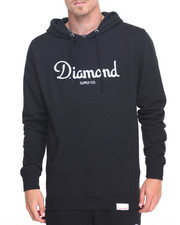 Diamond Supply Co - Champagne Embroidered Hoodie