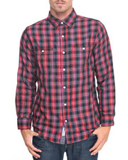 Shirts - Wayne Plaid L/S Button-Down