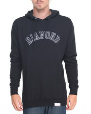 Hoodies - Diamond Arch Embroidered Hoodie