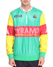 Outerwear - Cycle Race Zipper Crew