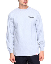 Diamond Supply Co - Champagne L/S Tee