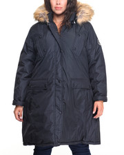 Plus Size - Heavy Puffer Parka Talson Anorak Coat (plus)