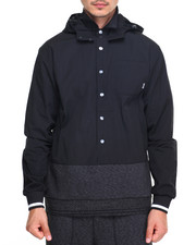 Diamond Supply Co - Blur Hooded Woven
