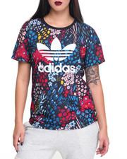 Adidas - FLORAL PRINT BOYFRIEND TEE