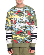 Parish - Camo L/S Sweatshirt
