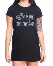 "Women - ""Coffee"" My True Love Night Dress"