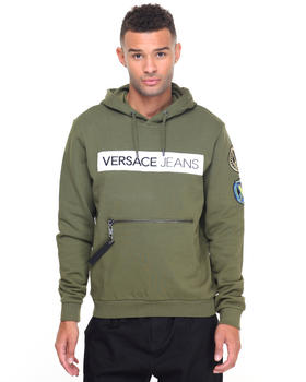 Men - Taped Logo Hoodie