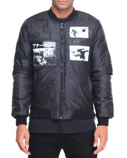 Light Jackets - Anarchy Patched M A - 1 Jacket