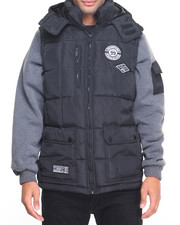 Men - Bubble Vest w/ Sleeve