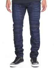 Men - Coated Fashion Denim Jeans