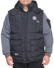 Outerwear - Bubble Vest w/ Sleeve (B&T)