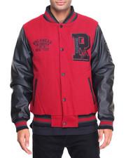 Outerwear - Varsity P U Jacket