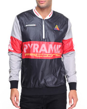 Men - Cycle Race Zipper Crew