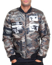 Men - Anarchy Patched M A - 1 Jacket