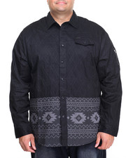 Men - Aztec L/S Button-Down (B&T)