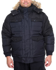 Outerwear - Hooded Bubble Jacket (B&T)