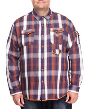 Men - Grounder L/S Button-Down (B&T)