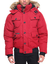 Men - Canada Weathergear 4 - Pocket Heavyweight Bomber Coat
