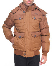 Heavy Coats - Hooded Bubble Jacket