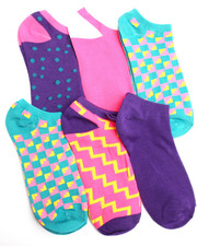 Accessories - Geomix 6Pk Low Cut Socks