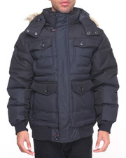 Men - Hooded Bubble Jacket