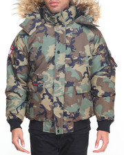 The Classic Bomber Jacket - Canada Weathergear Heavyweight Bomber Coat