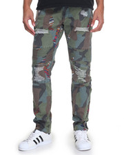 Men - Zulu Camo Stretch Moto Pant