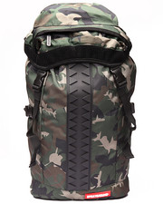 Girls - Camo Shark Vertical Rubber backpack