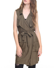 Fashion Lab - Military Duster Vest