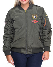 Rocawear - Aviator Fly Jacket (Plus)