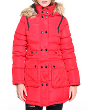 Rocawear - Sassy Lady Big Faux Puffer Coat
