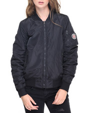 Women - Nylon Bomber Jacket