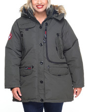 Women - Weather Gear Hooded Parka Coat