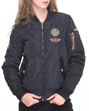 Women - Aviator Fly Jacket