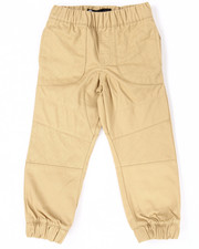 Bottoms - TWILL MOTO JOGGERS (4-7)